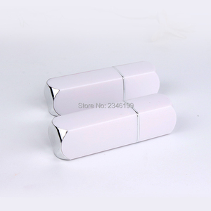 Image 5 - Empty Lipbalm Tube 12.1mm White Square Lipstick Tube Empty Cosmetic Container Lip Balm Packaging Empty Lipstick Container 50pcs