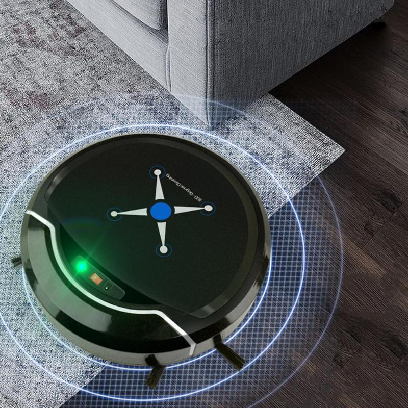 Automatic Sweeping Machine Robot Vacuum Cleaner USB Rechargeable Dust Catcher Floor Sweeping Robot Vacuum Machine