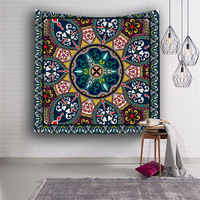Bohemian Patch Tapestry Creative Popular Ethnic Style Shawl Wall Hanging Cloth Curtain Decorated Fabric Desk Decorative Cover