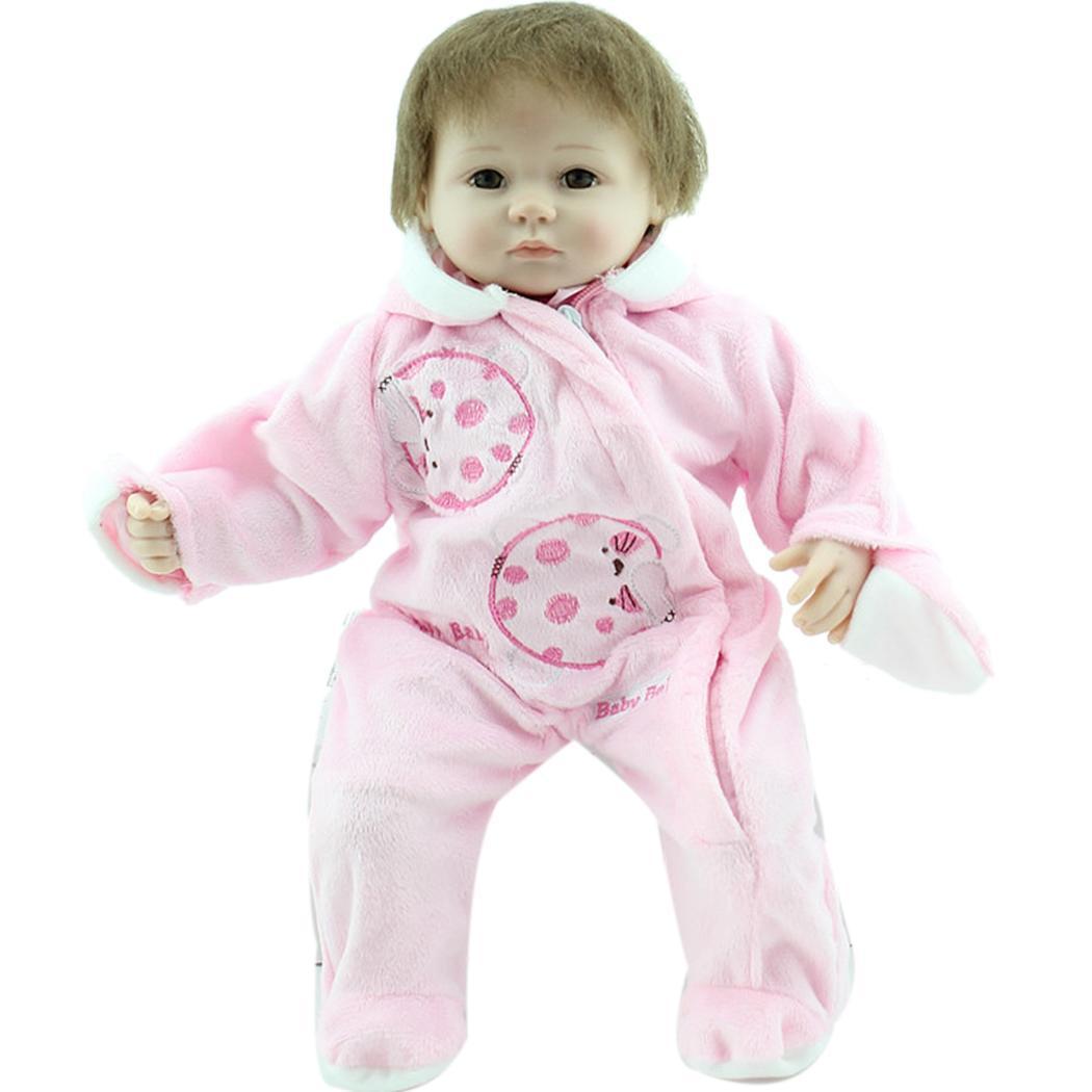 Vêtements de poupée réalistes avec des objets de collection enfants naissance Silicone unisexe 4 ans bébé 2 cadeau doux Playmate certificat renaître