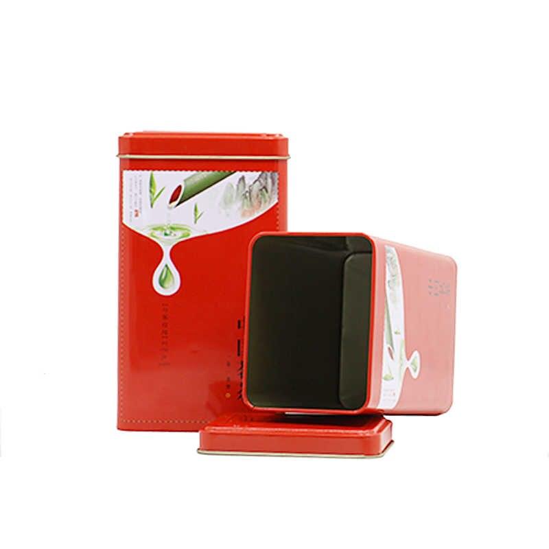 شين جيا يي علب ورقية لتعبئة الشاي المنظم علب صفيح الجملة الشاي صندوق معدني الخيزران حزمة الأنماط الصينية علبة شاي من الصفائح الحديدية رائجة البيع