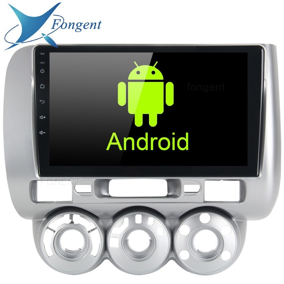 Android 8 0 1 din Car Radio GPS Navigation Multimedia Player for Honda JAZZ FIT 2002