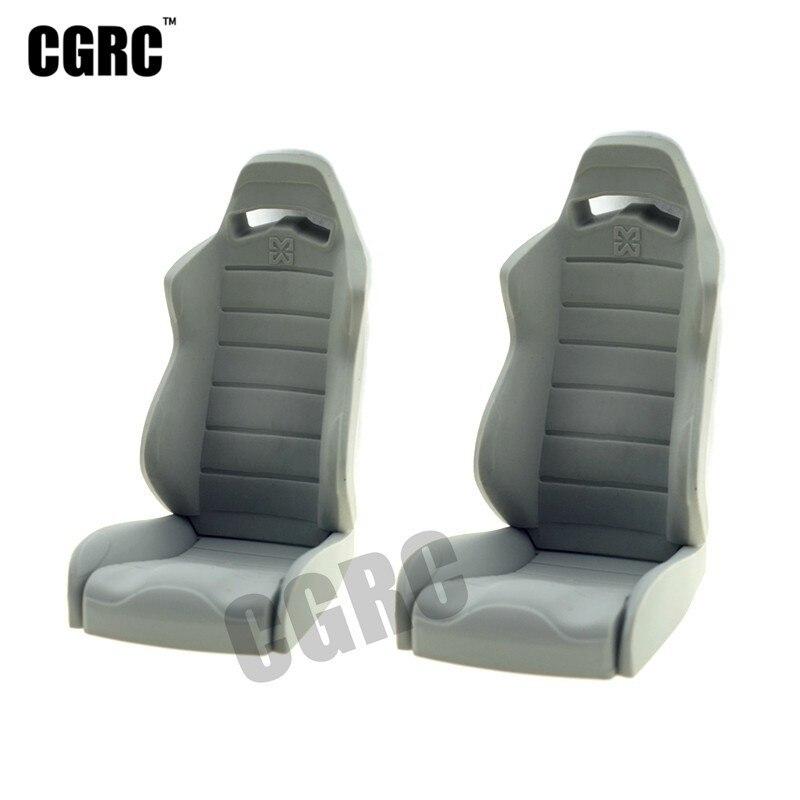 2 piezas de Gel de sílice de asiento del conductor de taxi asiento banco para RC Crawler coche Axial de los espectros TRX4 D90 D110 RC -Por supuesto camión monstruo