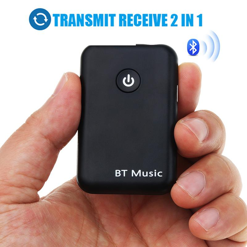 Funkadapter Ostart 2 In 1 Bluetooth Sender Empfänger 3,5mm Wireless Adapter Bluetooth 4,2 Stereo Audio Dongle Für Tv Auto/ Hause Lautsprecher GroßEs Sortiment