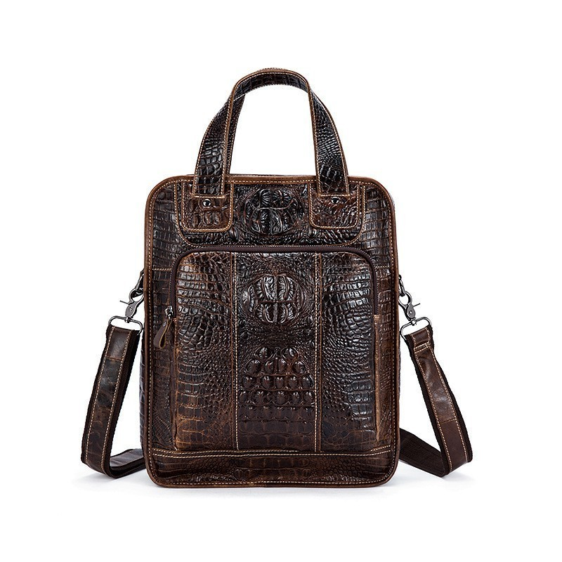 Women Alligator Genuine Leather Backpack 3d Crocodile Women Backpack Daily Bags For Girls College Female Fashion Shoulder Bags