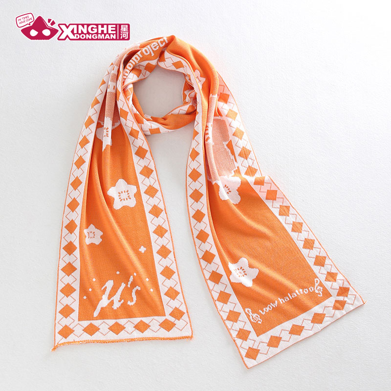Milky Way Anime Lovelive Scarf Theme Scarf school idol project Knitted Unisex Scarf Kousaka Honoka Girl Gift 180CM Cosplay