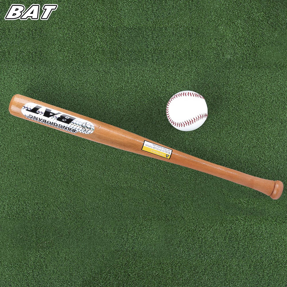 BAT Outdoor Sports Solid Wood Baseball Bat Fitness Equipment