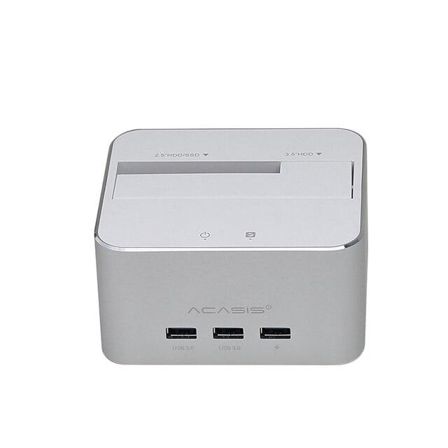 Acasis Usb 3.0 2.5/3.5 Inch Sata External Hard Drive Disk Box Docking Station Laptop Desktop Hdd Enclosure Case Expand 3.0 Hub