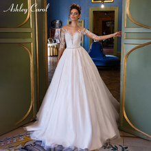 Ashley Carol Vintage Wedding Dresses 2019 Bride Dresses