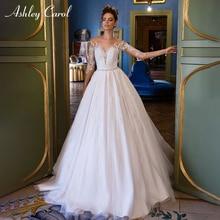 Ashley Carol Vintage Wedding Dresses 2019 Bride Dresses