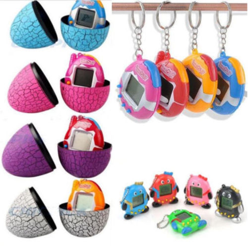 Top Christmas Gifts 2019 For Kids: 2019 New Tamagotchi Electronic 49 In 1 Toys + Dinosaur Egg