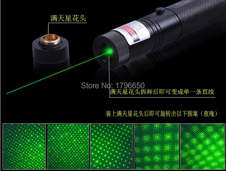 High power Military 10000m 100w 532nm Green laser pointer Flashlight Light Burning match burn Cigarettes Astronomy Lazer Hunting in Lasers from Sports Entertainment
