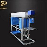 80W 120W 150W glass reci tube CO2 laser marking machine for leather wood