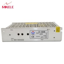 high effieciency low costs D-60B 5V 24V dual output switching power supply 24v 2a 60w