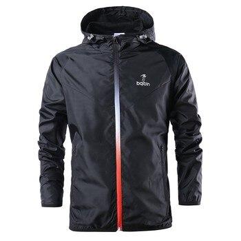 Spring/Autumn Windbreaker Running Jacket Man/Woman Sport Jacket Gym Hoodie Outdoor Windproof Winter Coat Cycling Sportswear Male