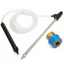 4pcs Set Sandblaster Kit  High Pressure Washer Sand Wet Blasting Nozzle 1/4 Quick Connect Gun Cleaning Tool
