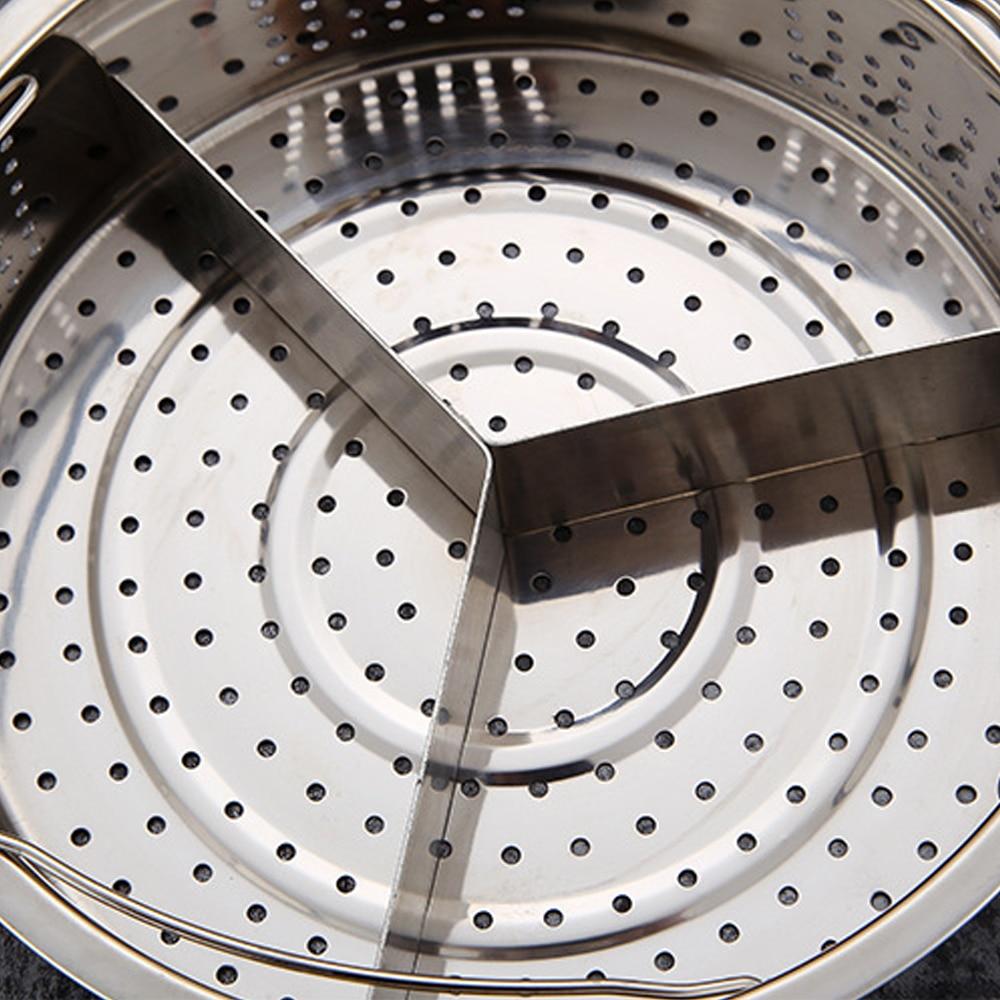 Пароварка Корзина Пароварка кухня экономичная Паровая стойка из нержавеющей стали посуда яйцо удобно