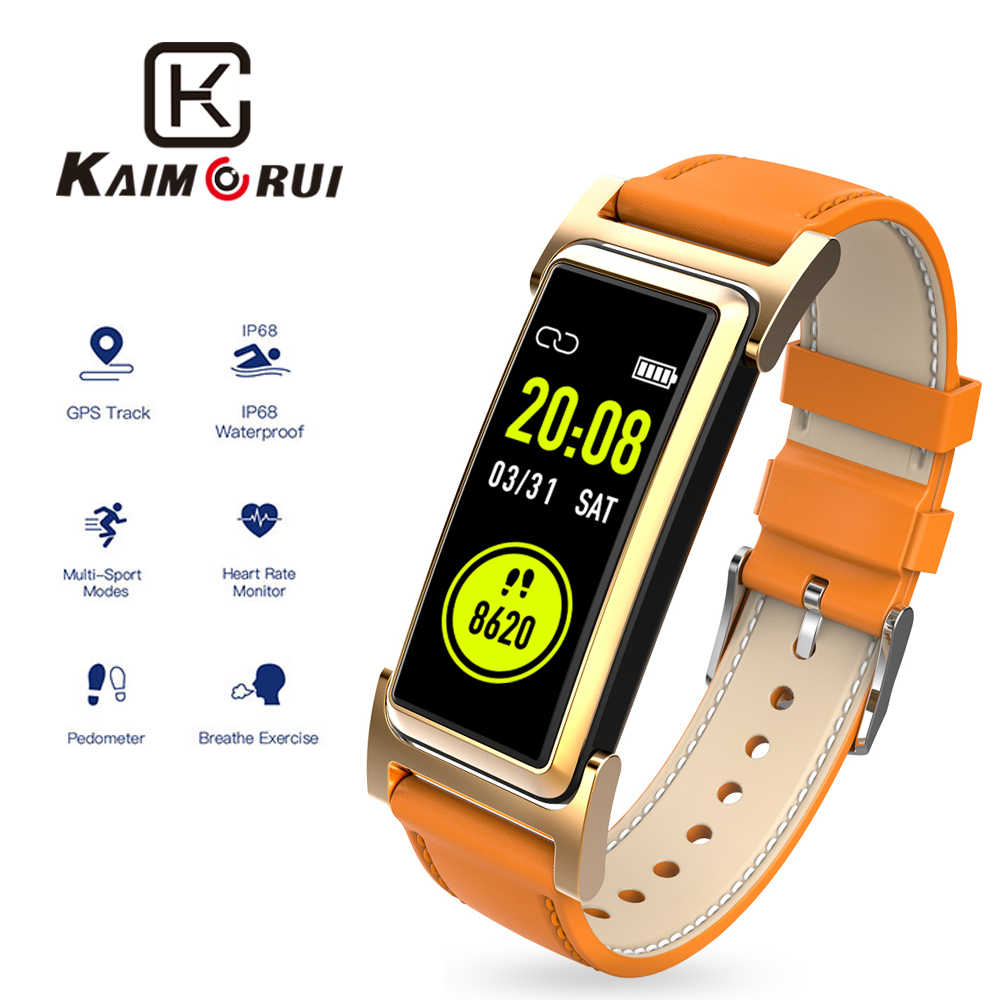 KR03 Smart Wristband GPS IP68 Waterproof Smart Band Pedometer Heart Rate Monitor tracker Fitness Bracelet For Xiaomi Huawei IOS