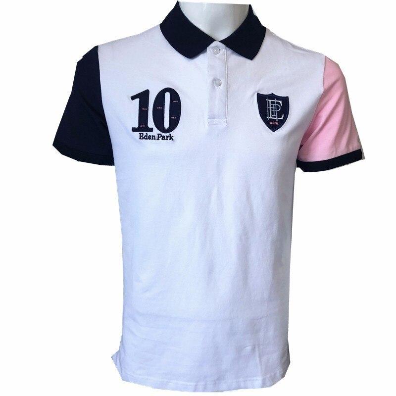 Eden Park Men   Polo   2018 Summer Brand Short   Polos   Clothing Famous Camisa Masculina Casual Sportswear Breathable Mens   Polo   Shirts