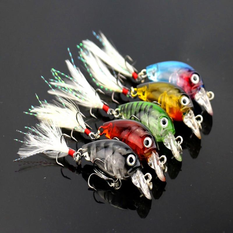1pcs 4.5cm 4g Fishing Lures Crank Baits Mini Crankbait