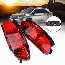 2 шт. автомобильный Стайлинг красный Лен светодиодный задний тормозной бампер противотуманный светильник поворотники пластик для Lexus RX300 RX330 RX350 2003-2008