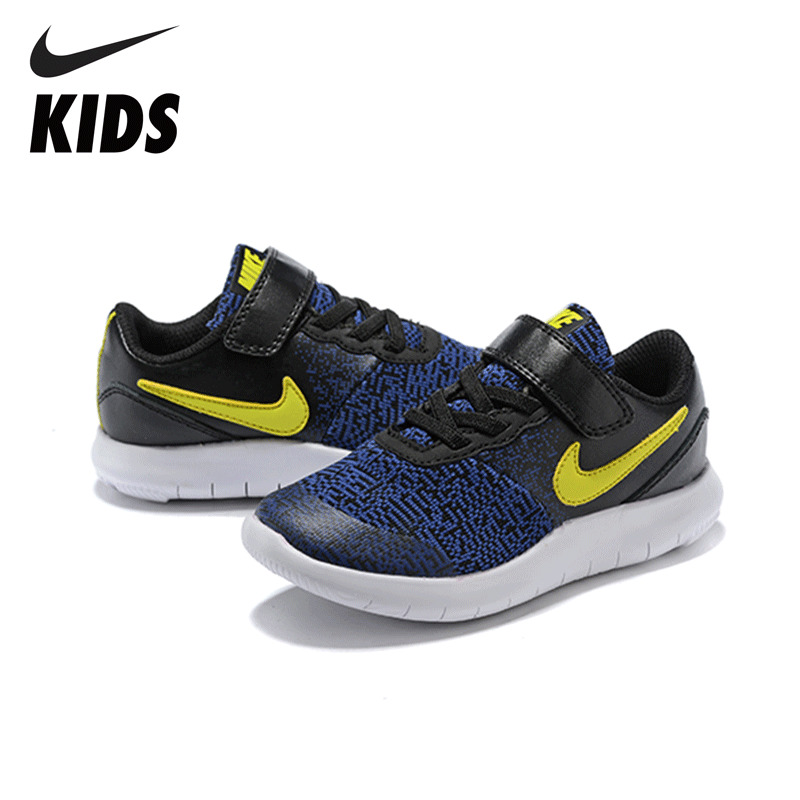 $37.23 Nike Kids Breathable Running Shoes Children Anti-slip Sports Sneakers 443110659