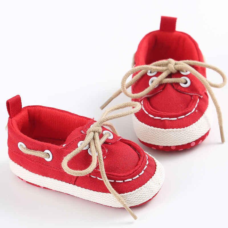 Pudcoco แบรนด์เด็กใหม่ทารกแรกเกิด Boy boy Denim Soft Sole ทารกเด็กวัยหัดเดินรองเท้า Prewalker รองเท้าผ้าใบรองเท้า