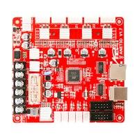 12V Printer Motherboard High Quality Anet A8 V1.0 DIY Motherboard For 3D Printer Reprap Board Ramps1.4 12V Mayitr
