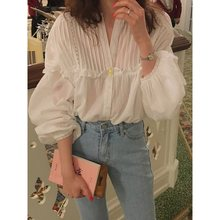 Summer Office Lady Gothic Chic Black Big Size Korean Style Women Blouses Casual Loose Sweet Sunscreen Elegant Female Simple Tops