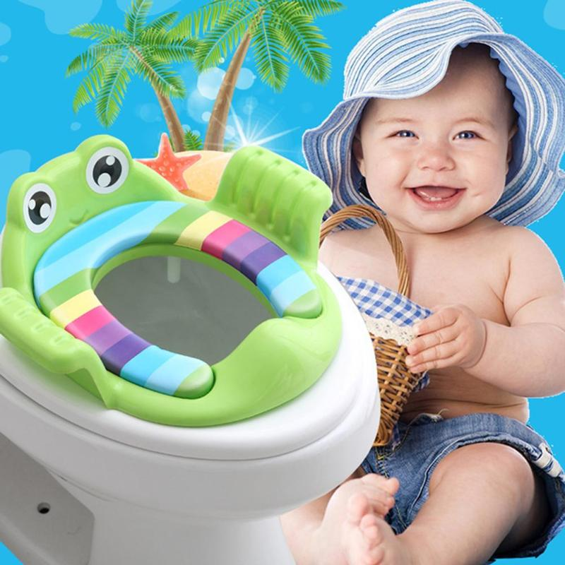 Removable Baby Potty Seat Ring Girls Boys Trainers Toilet Pad With Armrests For Toddler Girls Boys Trainers Potty Toilet Cushion