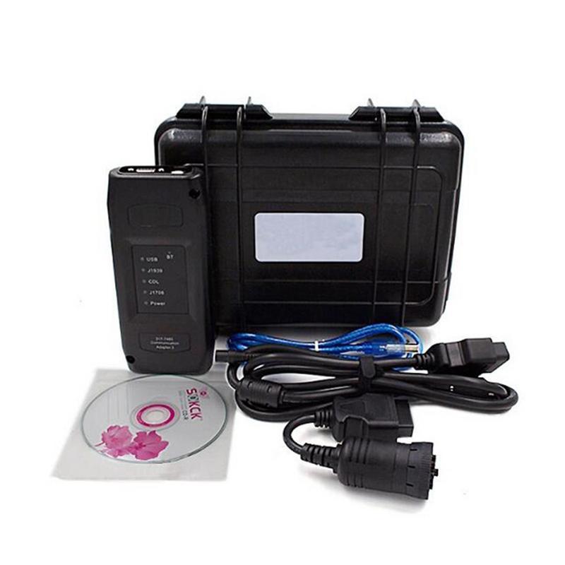 Samochód bezprzewodowy Adapter samochód narzędzie diagnostyczne do ciężarówki dla kota komunikacji Adapter III 317-7485 z WIFI