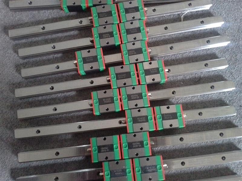 Frete grátis para MGR12-750mm 9 pcs MGN12H-16 pcs MGN12C-10 pcs