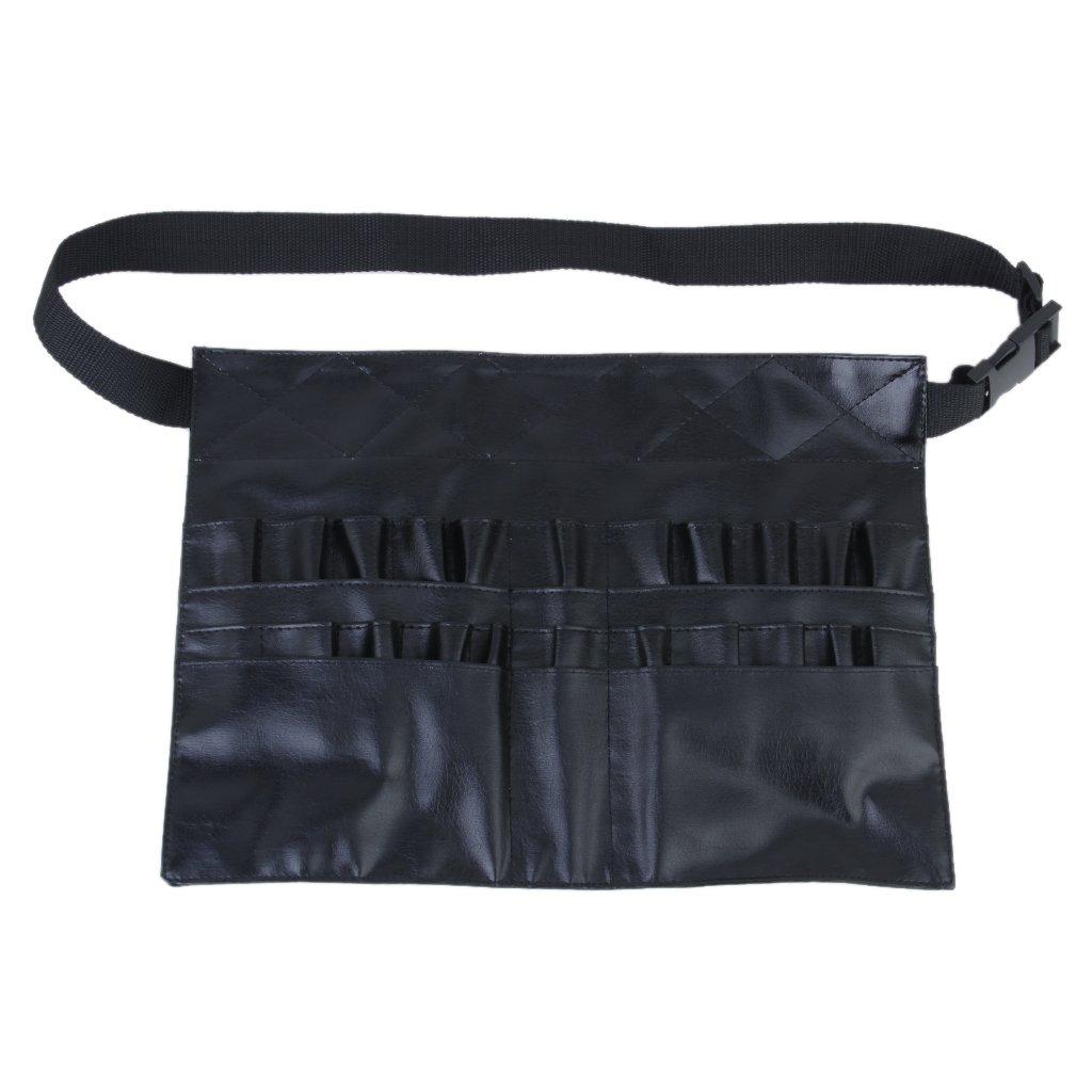 Pvc Professionele Cosmetische Make-up Borstel Schort Bag Artist Belt Strap Houder Puur Wit En Doorschijnend