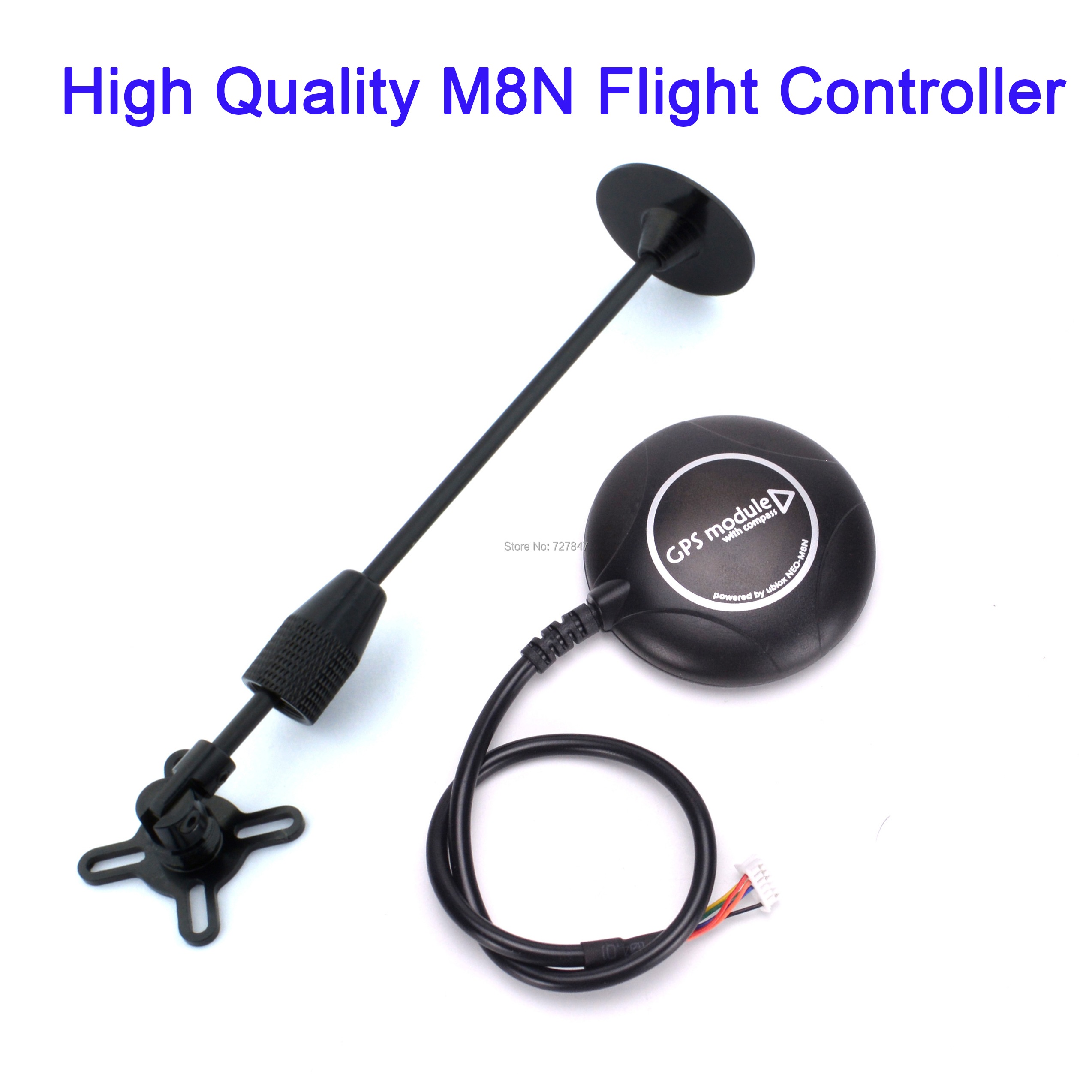 High Quality Latest M8N 8N Flight Controller GPS Module with GPS Holder for PX4 PIX Pixhawk