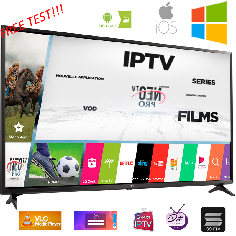 IPTV subscription Europe french italain polish UK Germany Arabic iptv code sports adults channel and VOD free test