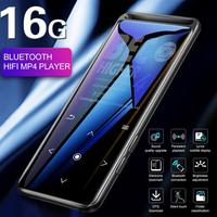 M6 1.8 Inch 16G MP4 Player Bluetooth MP3 Hifi MP4 Music Player TXT Touch Screen E book Voice Recorder Bass Sound Player Radio