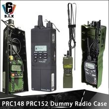 Z-TAC тактический военный Softair армейский радио PRC-148 PRC 152 макет радиоприемника чехол с антенной посылка рация PRC 148 PRC-152