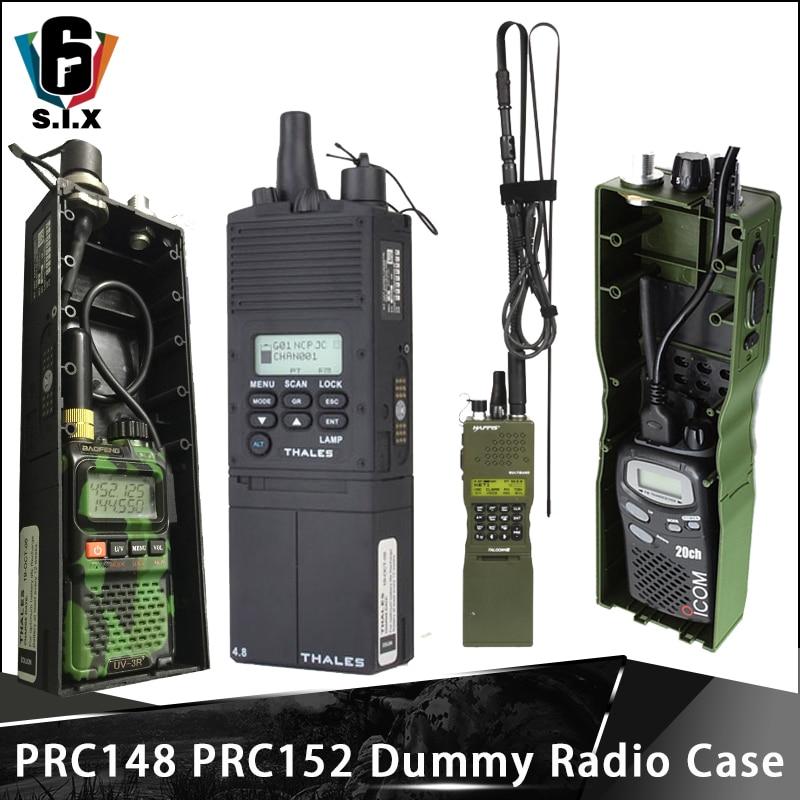 Z-TAC Tactical Military Softair Army Radio PRC-148 PRC 152 Dummy Radio Case With Antenna Package Talkie Walkie PRC 148 PRC-152