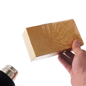 Behogar 300 sztuk/zestaw 4.72x7.09 cal PVC folia termokurczliwa Film torba termozgrzewalna opakowanie pakowanie prezentów dla mydła bomby do kąpieli Handmade DIY rzemiosło