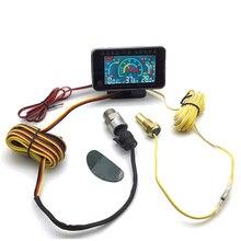 Универсальный автомобильный 3 в 1 ЖК-дисплей 12 В/24 В, комбинированная Таблица с датчиками давления масла
