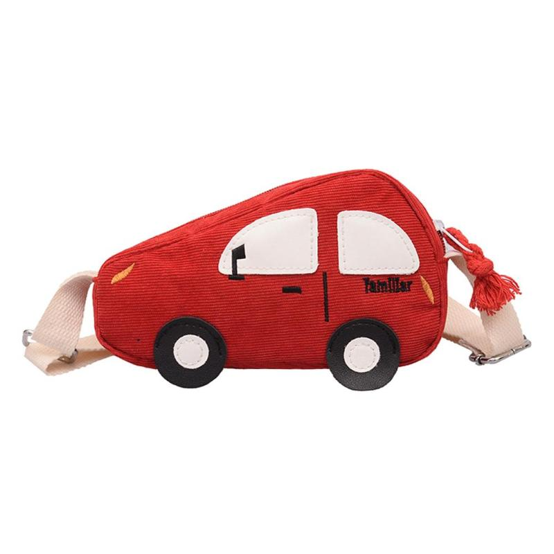 Lovely Baby Girls Handbags Kids Crossbody Shoulder Bags Car Corduroy Purse Bag Sac A Dos Bolsas Feminina Mujer Sac A Main