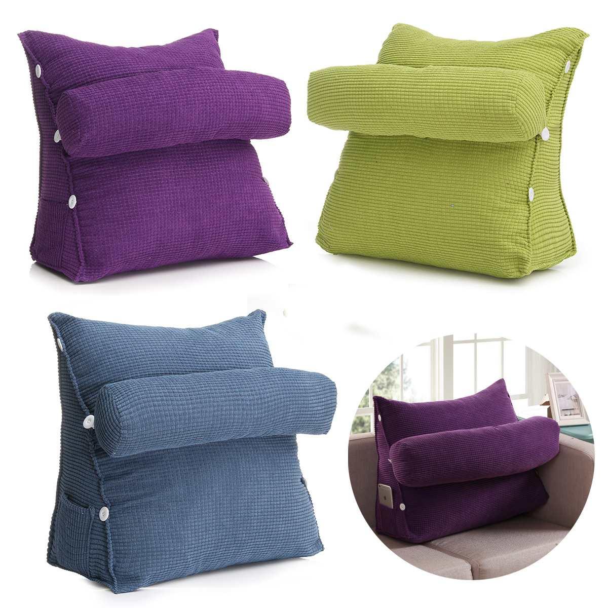 Triangle Sofa Cushion Back Pillow