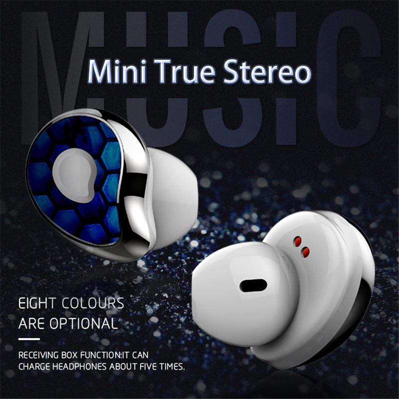 Nouveau SE6 Sports sans fil écouteurs Bluetooth 5.0 Mini caché Super stéréo basse écouteurs appel musique casques haute qualité écouteurs