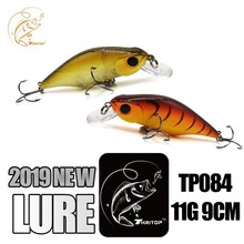 Thritop 2019 New Fishing Lure Artificial Bait 11g 90mm 5 Various Colors TP084 Professional Hot Hard Minnow Accessories