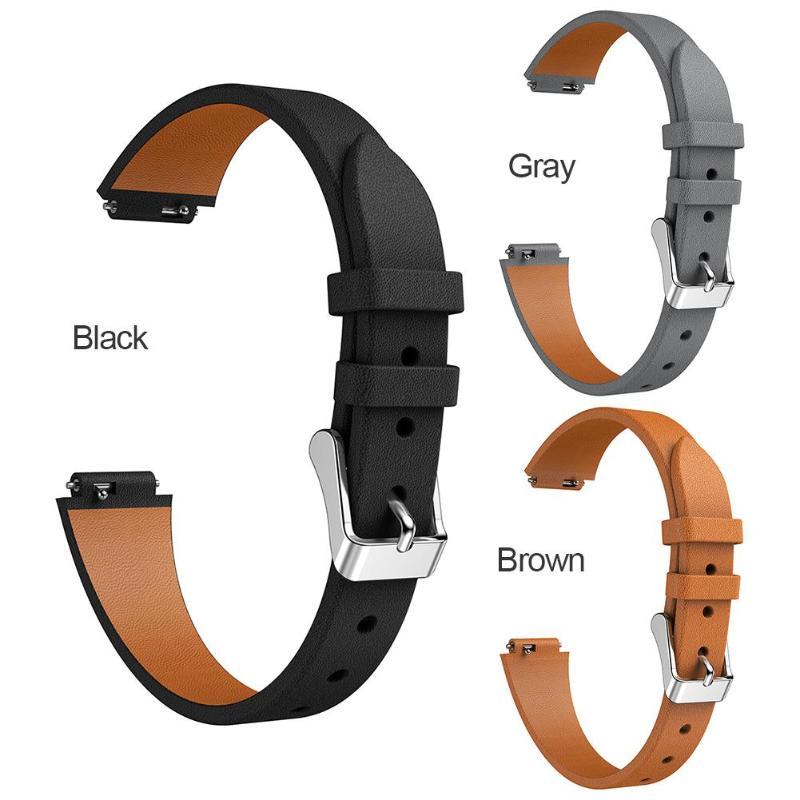 VODOOL Replacement Smart Watch Leather Watch Band Wrist Strap Bracelet Belt For Fitbit Inspire/Inspire HR Smartwatch Belt Parts