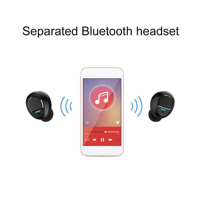 Sport coloré sans fil Bluetooth casque étanche Mini écouteurs intra-auriculaires Texture musicale de haute qualité pour téléphone portable - 4