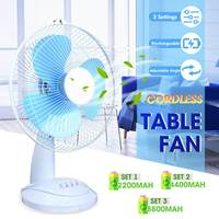 New Arrival 2019 Table Fan Desktops Household Air Conditioner Cooler Cooling Fan Li ion Battery For Office Home Dorm Bed Room