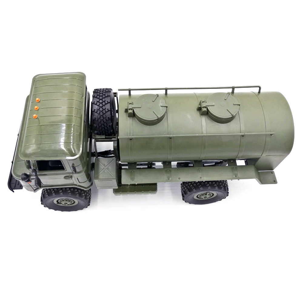 WPL B24 B16 B36 Simulatie Trein Olie Transport Tank Tanker Truck Model RC Auto Onderdelen Accessoires
