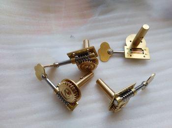 4 PCs Double Bass Pegs Quality Brass Bass Pegs Bass parts 3/4