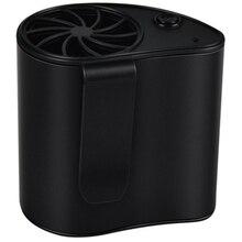 Портативный мини Мобильный кондиционер маленький usb вентилятор перезаряжаемый висячая Талия Персональный вентилятор для путешествий и кемпинга на открытом воздухе